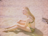 Summer Kini Photographic Print by Jena Ardell
