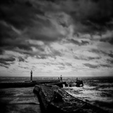 Whitby Blowing Photographic Print by Rory Garforth
