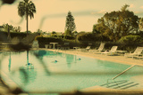 Luxurious Vintage Swimming Pool: Serene, Quiet And Peaceful Photographic Print by Jena Ardell