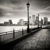 Canary Wharf, London Fotografisk tryk af Craig Roberts