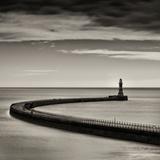 Roker Lighthouse Fotografisk tryk af Craig Roberts
