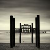 West Pier, Brighton, West Sussex Fotografisk tryk af Craig Roberts