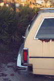 Yellow 1977 Chevy Impala Station Wagon Photographic Print by Jena Ardell