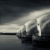 Thames Barrier, London Fotografisk tryk af Craig Roberts