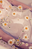 Floral Bath Photographic Print by Luc Coiffait