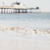 The Waves Running Up Against Your Feet Photographic Print by Laura Evans