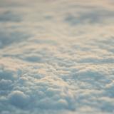 Above the Clouds Fotografie-Druck von Laura Evans