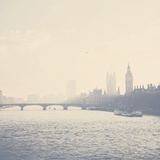 The City of Westminster Fotografie-Druck von Laura Evans