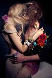 Tangled Kiss Reprodukcja zdjęcia autor Luc Coiffait