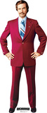 Anchorman - Ron Burgandy (Will Ferrell) Lifesize Standup Cardboard Cutouts