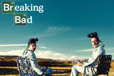 Breaking Bad - Walter and Jesse - Crystal Canyon TV Poster Photo