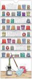 Mahogany - Pens - Perpetual Birthday Calendar Calendars