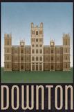 Downton Retro Travel Prints