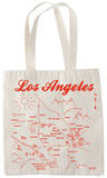 Natural Grocery Tote - Los Angeles Tote Bag