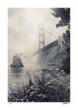 Golden Gate North Impression giclée par Donald Satterlee