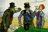 Vincent Van Gogh The Drinkers Poster Posters by Vincent van Gogh