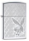 Playboy High Polished Chrome Zippo Lighter Lighter