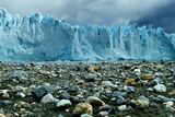 Rocky Glacier Beach Patagonia Argentina Photo Poster Photo