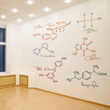 Party Molecules Wall Decal Decalques de parede