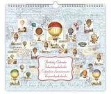 Bellini - Ballons - Perpetual Birthday Calendar Calendars