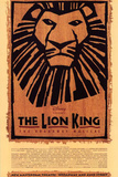 The Lion King Broadway Musical Poster Prints