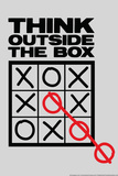 Think Outside The Box Snorg Tees Poster Photo by  Snorg Tees