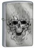Ghost Skulls Diagonal Weave Zippo Lighter Lighter