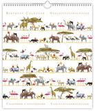 Animals - Safari - Perpetual Birthday Calendar Calendars