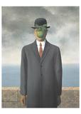 人の子 ポスター : ルネ・マグリット