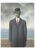 Le Fils de L'Homme (Son of Man) Prints by Rene Magritte