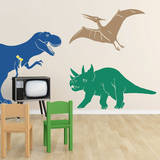 Medium Dinosaurs Blue Wall Decal Wall Decal
