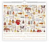 Musical Instuments - Perpetual Birthday Calendar Calendars