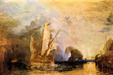 Joseph Mallord William Turner Ulysses in Homer's Odyssey Poster Poster by Joseph Mallord William Turner