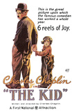 The Kid Movie Charlie Chaplin Poster Poster