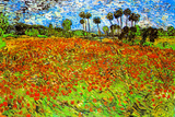 Vincent Van Gogh Poppy Fields Poster Prints by Vincent van Gogh