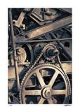 Gears 2 Reproduction procédé giclée par Donald Satterlee