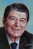 President Ronald Reagan Republican 80s Poster Art Posters