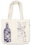 Natural Double Wine Tote - Sonoma County Specialty Bags