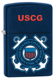 U.S. Coast Guard USCG  Insignia Navy Blue Matte Zippo Lighter Lighter