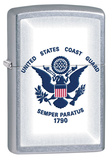 U.S. Coast Guard Street Chrome Zippo Lighter Lighter