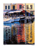 Reflections of Portofino Giclee Print by Tom Swimm