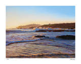 Pebble Beach Sunset Giclee Print by Tom Swimm