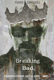 Breaking Bad - Power Corrodes Bryan Cranston TV Poster Poster