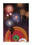 Karneval2 Limitierte Auflage von Donald Satterlee