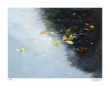 Rain and Leaves Giclee Print by Jan Wagstaff
