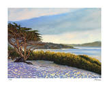 Carmel Panorama Giclee Print by Tom Swimm