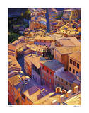 Above Siena Giclee Print by Tom Swimm