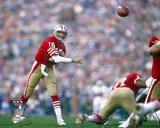 Joe Montana Super Bowl XIX 1985 Action Photo