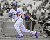 Yasiel Puig 2013 Spotlight Action Photo