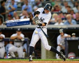 Ichiro Suzuki 4000th Career Hit- August 21, 2013 Yankee Stadium with Overlay Photo